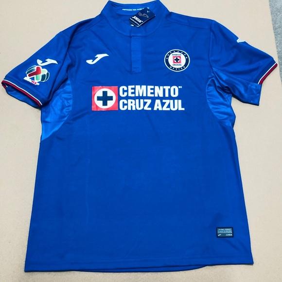 64d03f9be64 2019 Joma Cruz Azul Hernandez  11 Soccer Jersey MX